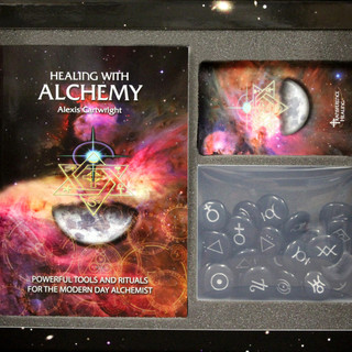 HEALING WITH ALCHEMY CARDS, BOOK & CRYSTALS