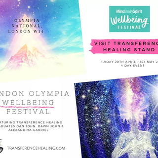 TRANSFERENCE HEALING MIND, BODY, SPIRIT FLYER