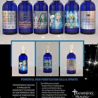 TRANSFERENCE HEALING FLYER
