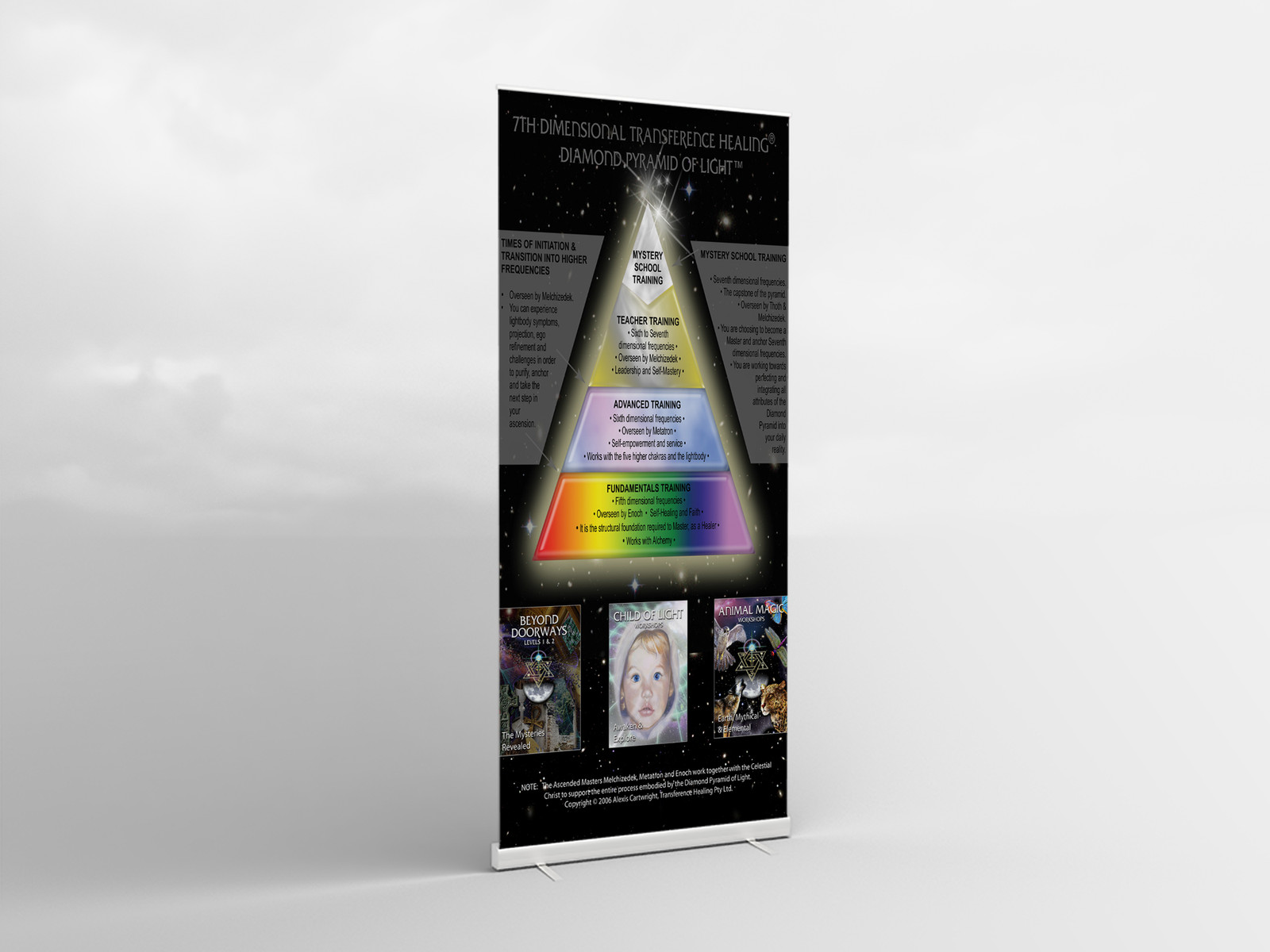 TRANSFERENCE HEALING PROMOTIONAL BANNER