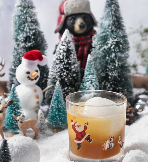 Celebrate Miracle on Rosemary pop-up bar with festive 'naughty and nice' signature cocktails