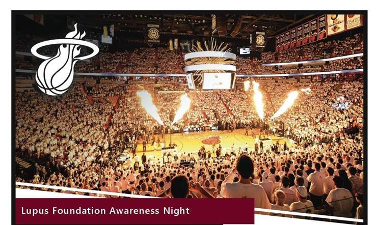 lupus awareness night miami heat