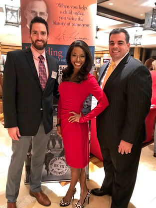Fun supporting Vinny Cuomo's Boys Town South Florida Thanksgiving event to feed local families