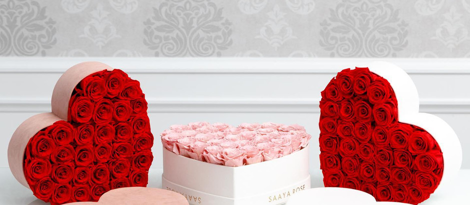 Give Real Roses & Hydrangeas that last all year this Valentine's Day🌹