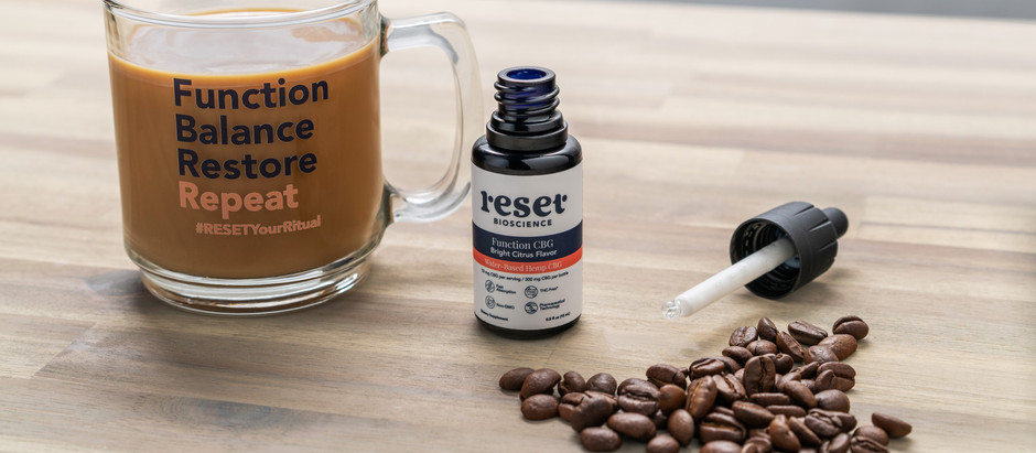RESET your ritual with world's first water-based CBD drops