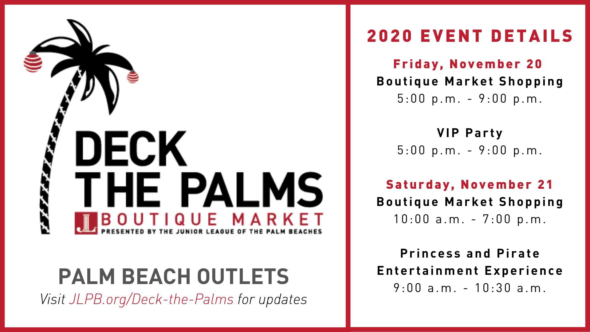 Deck the Palms Boutique Market