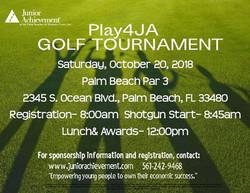 Play4JA Golf Tournament