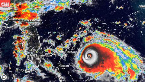 Hurricane Dorian's path has shifted from Florida to Georgia & Carolinas