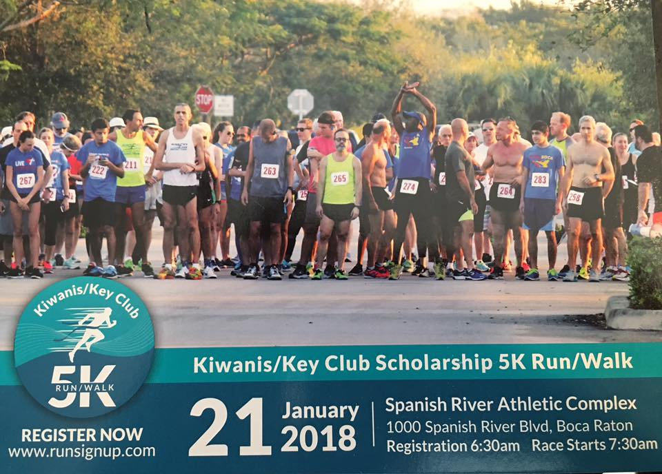 Register for the Kiwanis/Key Club 5K