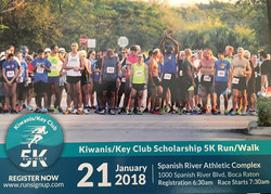 Register for the Kiwanis/Key Club 5K
