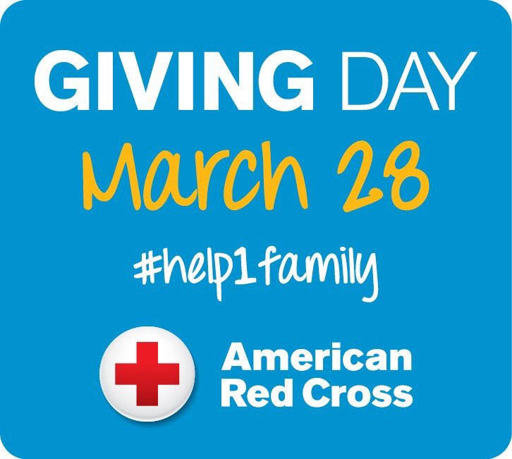 Red Cross Giving Day #help1family