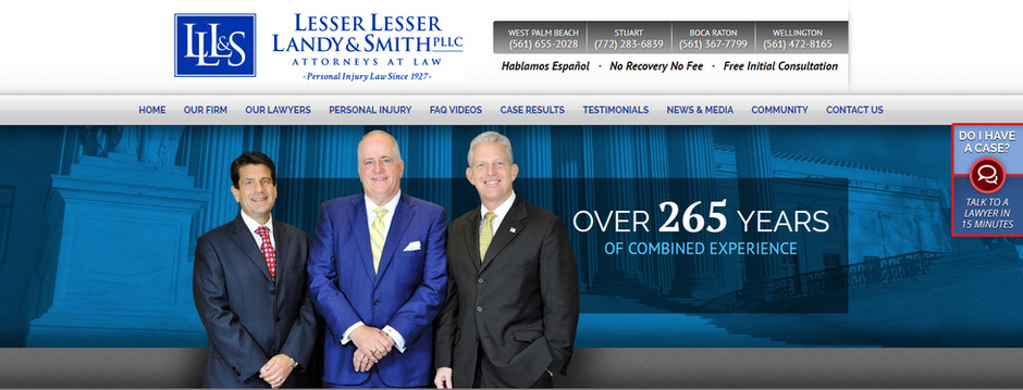 """8 Years in a Row Ranked """"Best Law Firm"""""""