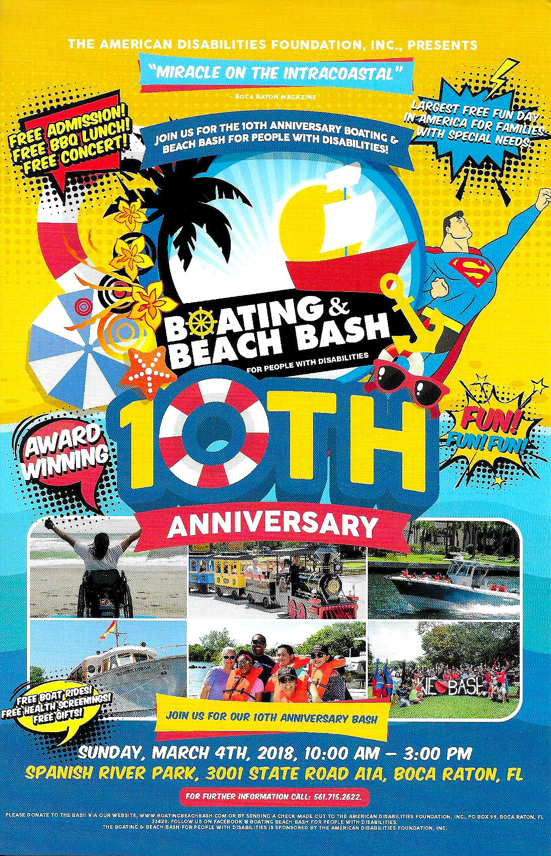 10th Anniversary Boat/Beach Bash
