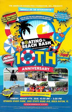 10th Anniversary Boat/Beach Bash
