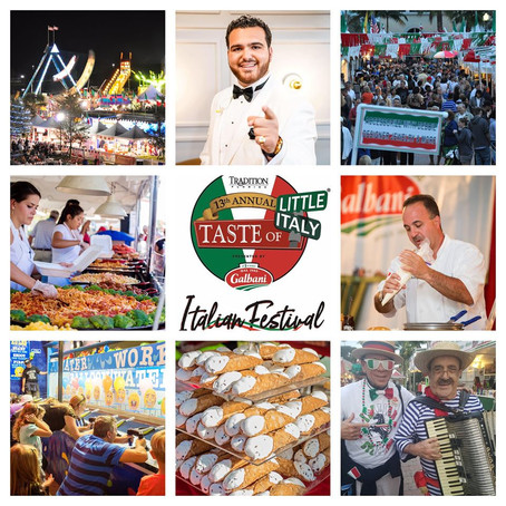 Taste of Little Italy celebrates 13 years of family, tradition, food, music & memories 🇮🇹