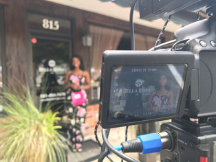 Behind The Scenes | Bella Reina Spa promo shoot