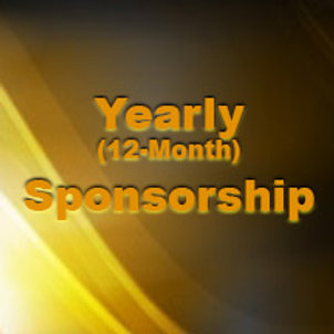 Yearly Program Sponsorship - 12 Months