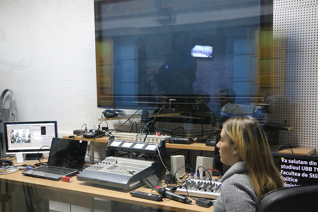 Broadcast at Babeş-Bolyai University