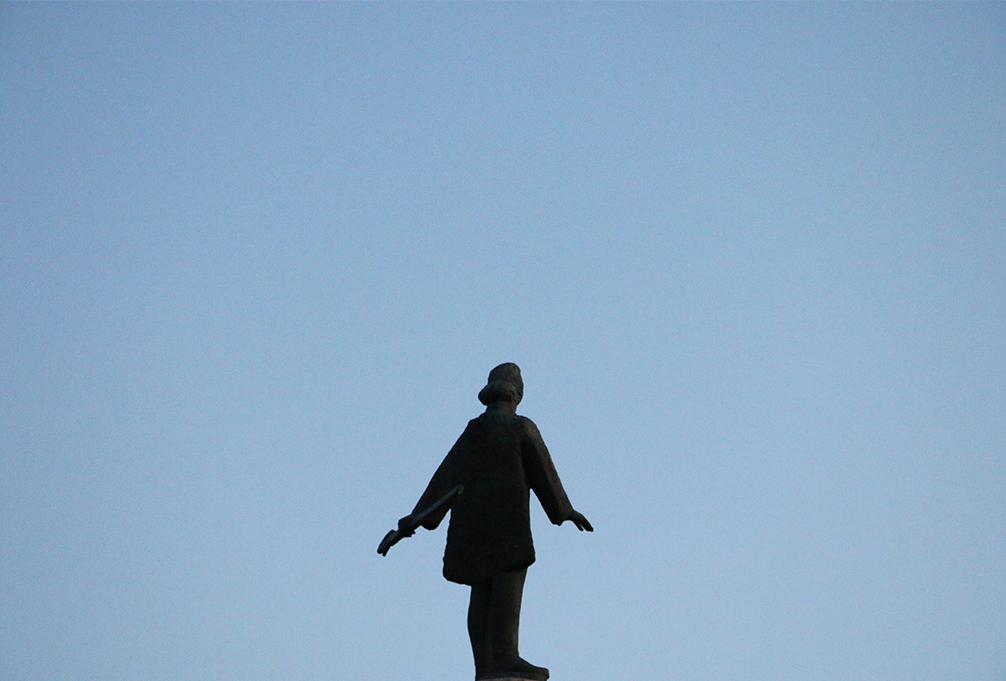 Statue of Avram Lancu