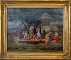 SZATHMARI, Oriental Scene