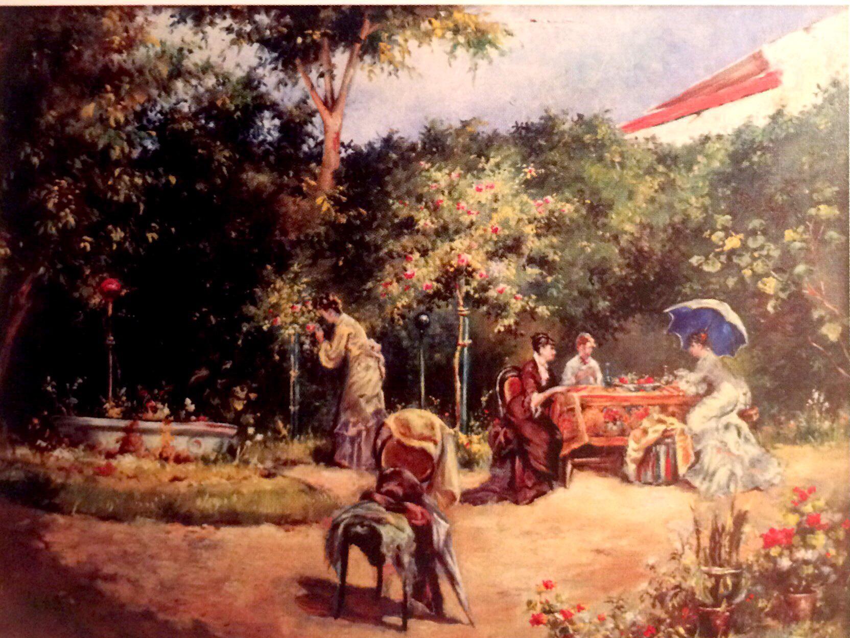 Theodor AMAN, The Garden