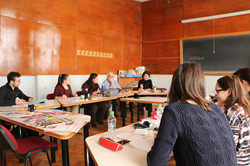 Meeting of UBB's students
