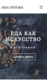 Все шаблоны website templates – Фуд-фотограф