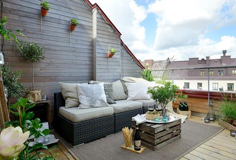 Come arredare un terrazzo in modo economico