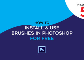Learn How To - Install & Use Photoshop Brushes For FREE