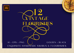 Vintage Flourishes - My Another Antique Collection