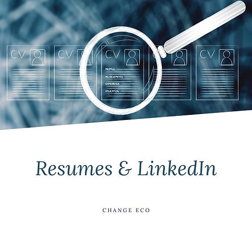 Mentoring: Resume & LinkedIn