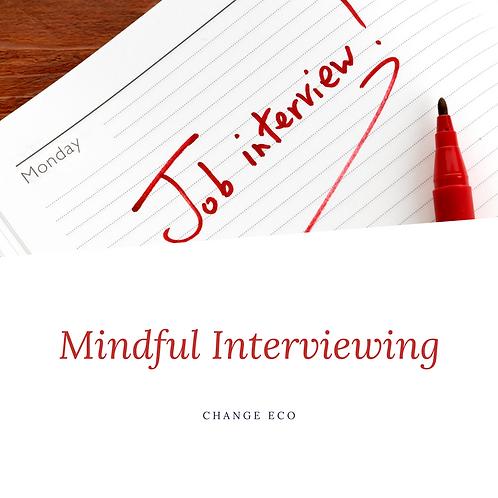Mentor: Mindful Interviewing Skills & LinkedIn