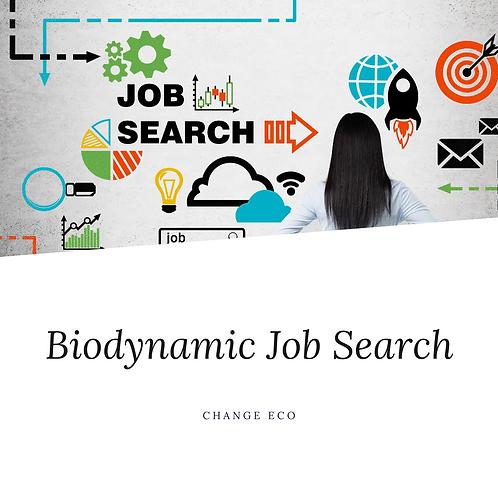 Mentor: Biodynamic Job Search