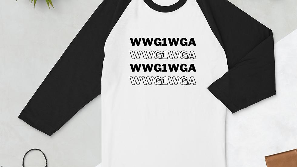 WWG1WGA Baseball Tee