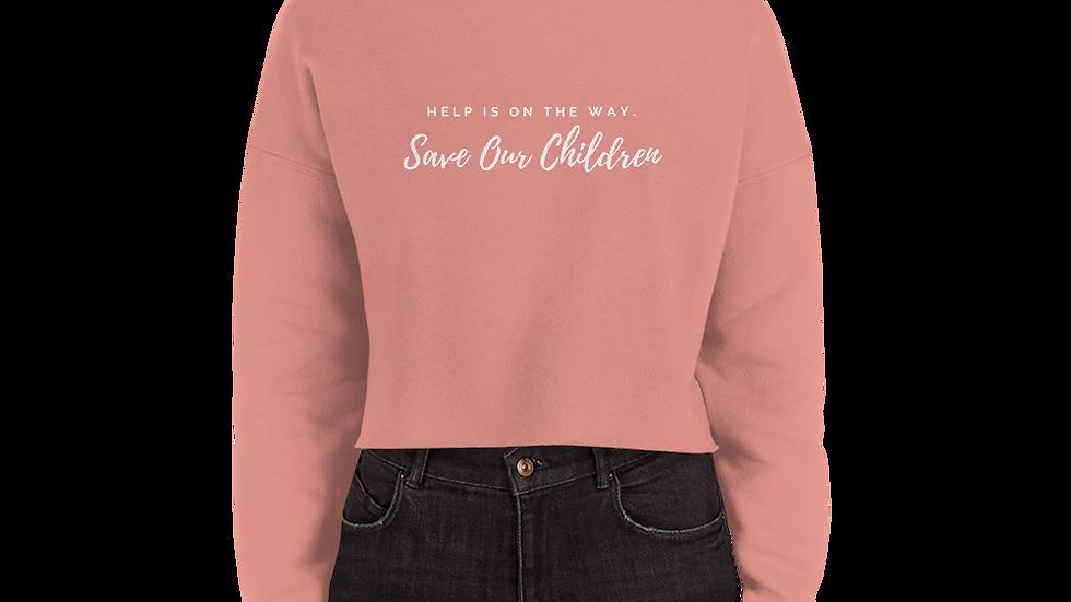 Help is On The Way Crop Sweatshirt
