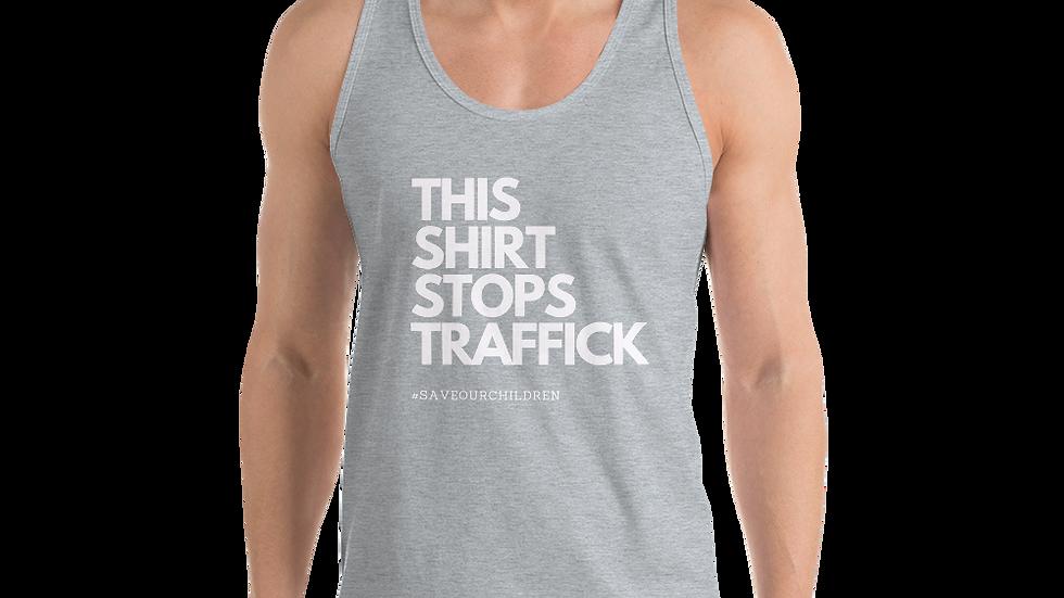 This Shirt Stops Traffick Classic Tank (Unisex)