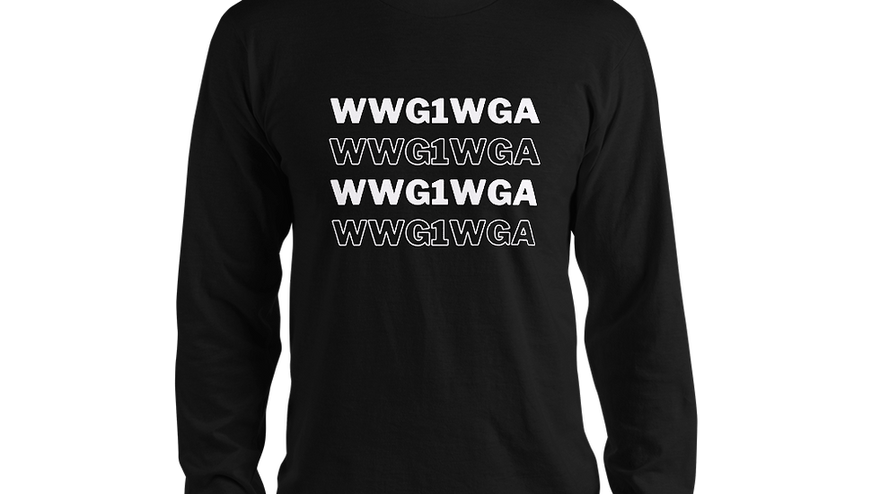 WWG1WGA Long Sleeve Tee (White Font)