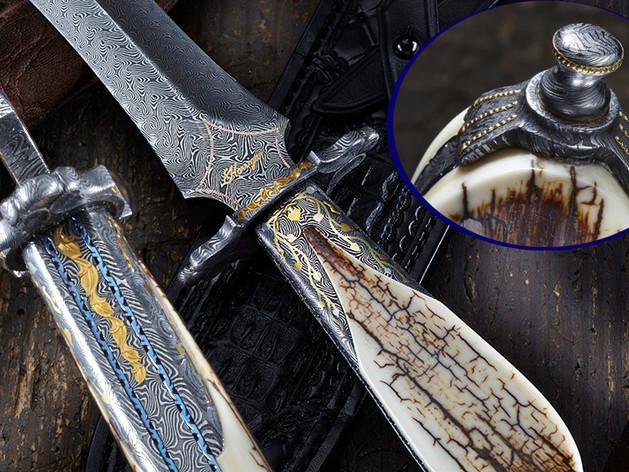 4 Layer Turkish Twist Dagger