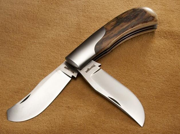 Two-Blade Slip Joint Folder