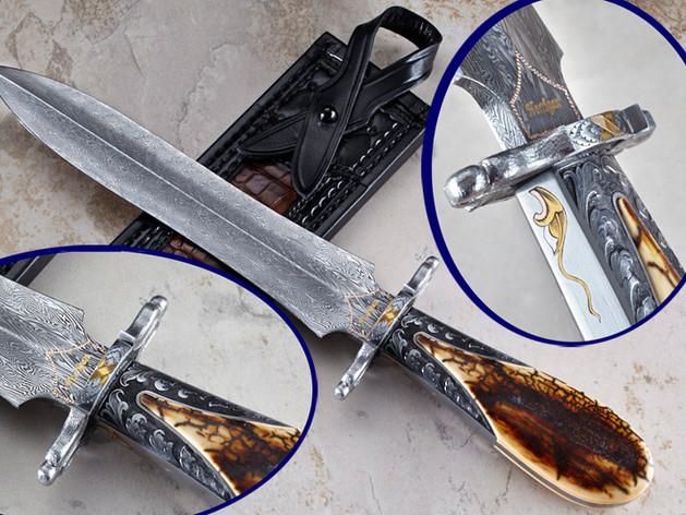 6 Layer Turkish Twist Dagger