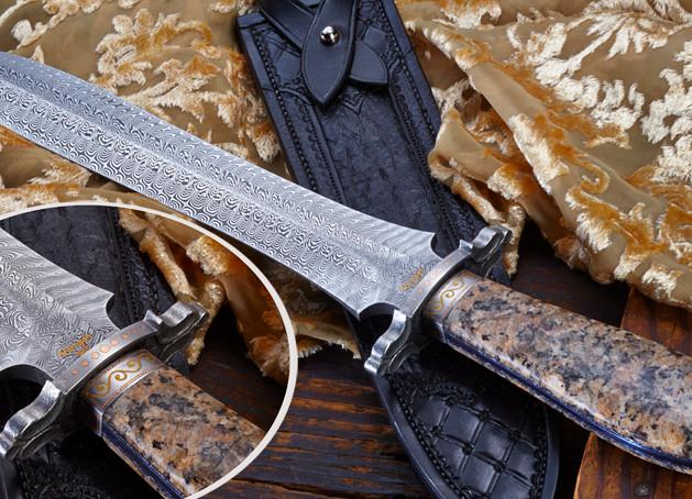 Granite Handle Dagger