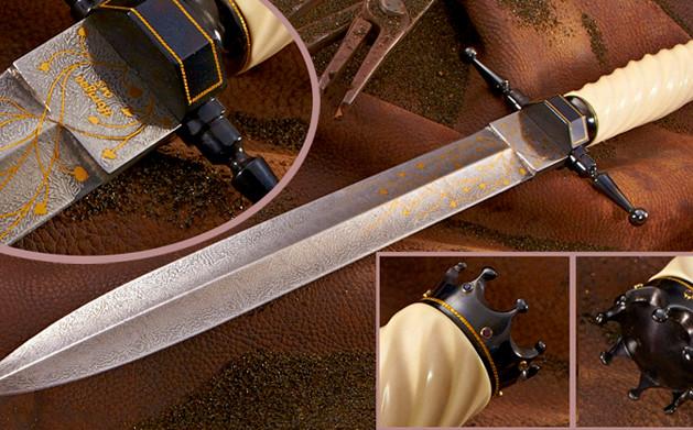 Gold & Ivory Dagger