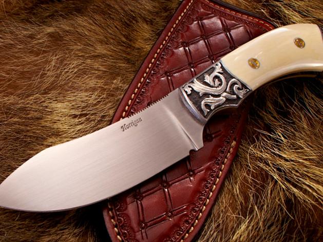 GREEN RIVER SKINNING KNIFE w/ Ivory