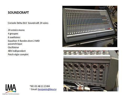Console Delta DLX Soundcraft