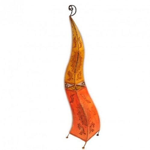 Lampe en peau orientale 150 cm