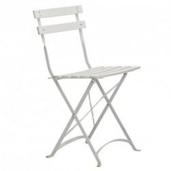 chaise-pliante-aphrodite-blanche