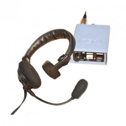 Boîtier intercom ASL - PS19 avec micro-casque 1 oreillette