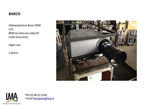 Barco 9300 LCD