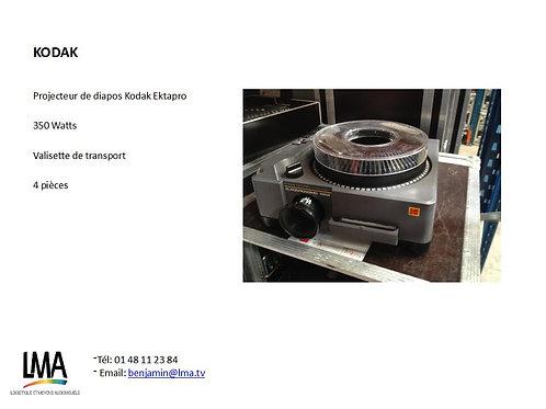 Projecteur de diapo Kodak Ektapro