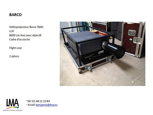 Barco 9200 LCD